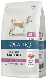 Pašaras Quattro sausas šunims su ėriena ir ryžiais 3kg