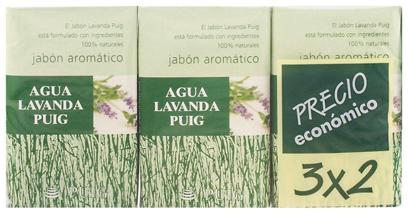 Antonio Puig Agua Lavanda Puig Soap 3 x 125g