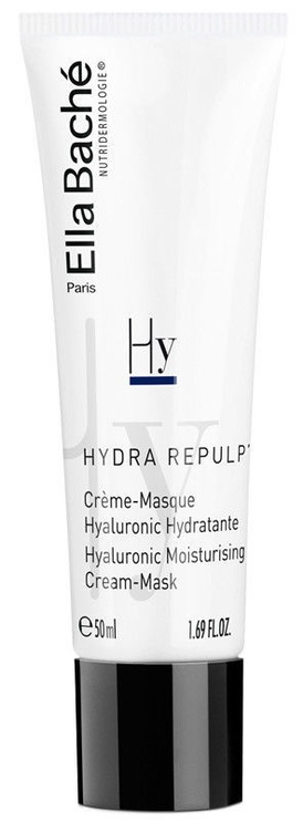 Veido kaukė Ella Bache Hyaluronic Moisturizing Cream-Mask, 50 ml