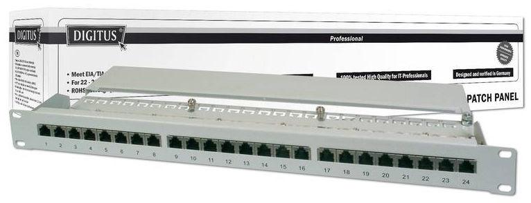 Lülitusseade Digitus 19'' CAT6 Patch Panel 24-Port STP DN-91624S
