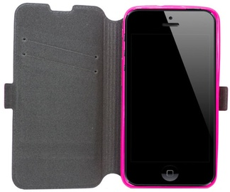 Telone Super Slim Shine Book Case Samsung i8190 Galaxy S3 Mini Pink