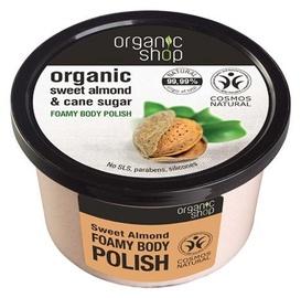 Скраб для тела Organic Shop Sweet Almond Foamy Body Polish, 250 мл