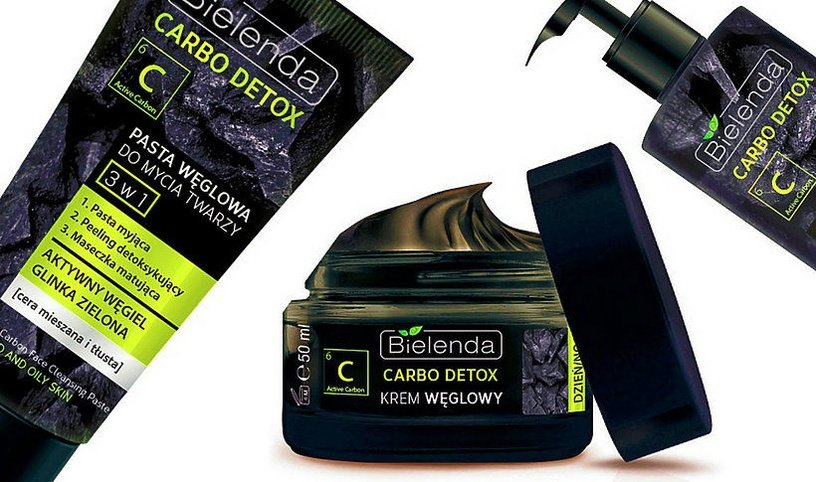 Bielenda Carbo Detox 3 in 1 Charcoal Face Cleansing Paste 150ml