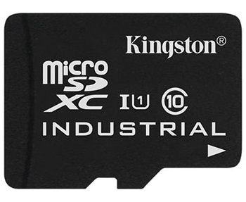 Kingston 8GB microSDHC UHS-I Class 10 Industrial Temperature Card + SD Adapter