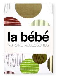 La Bebe Cotton Swaddler Set Cotton/Satin 75x75cm 3pcs 82527