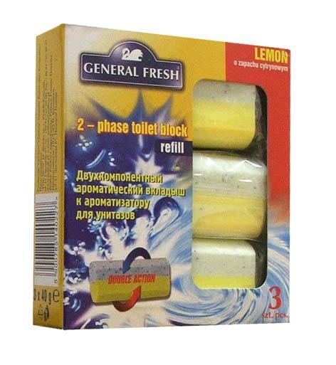 WC-poti seep Lemon, 3 x 40 g