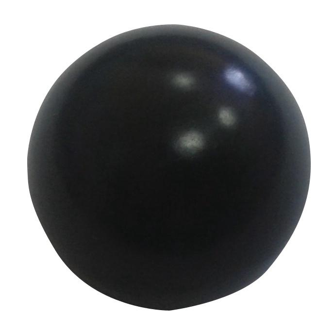 Aizkaru stangas nobeigums D16 Rutul, melns