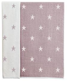 Ardenza Terry Towel Stars 70x120cm Purple