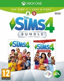 Sims 4 Plus Cats and Dogs Bundle Xbox One