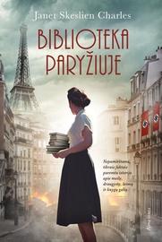 Knyga biblioteka Paryžiuje