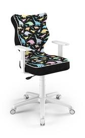 Детский стул Entelo Duo ST30, черный, 370 мм x 1000 мм