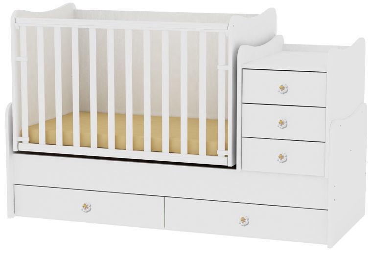 Bertoni Lorelli Bed MAXI PLUS White