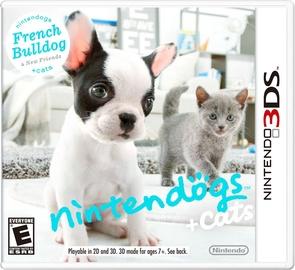 Игра Nintendogs+Cats: French Bulldog - Unpacked 3DS