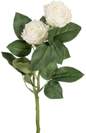 Home4you Artificial Flower Rose White