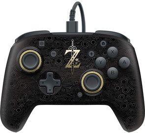 PDP Faceoff Deluxe Wired Pro Controller + 2 Faceplates Legend of Zelda Edition SWITCH