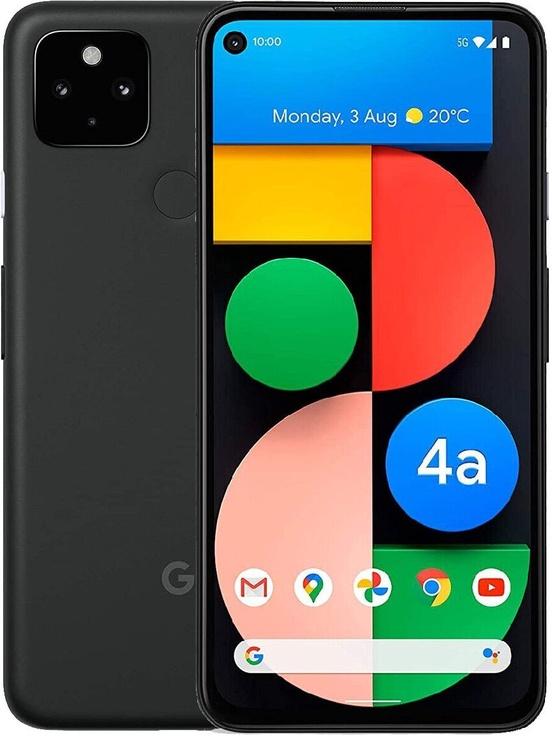 Мобильный телефон Google Pixel 4a 5G, черный, 6GB/128GB