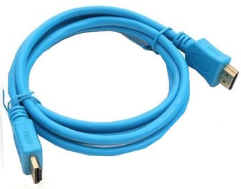 Omega HDMI To HDMI Cable 1.5m Blue