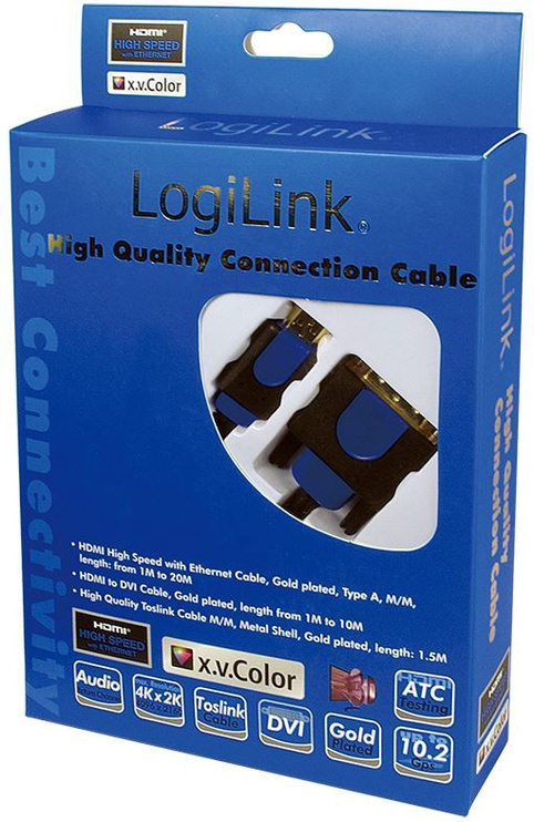 LogiLink Cable HDMI to DVI 10m