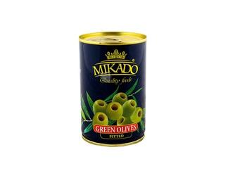 Alyvuogės Mikado, be kauliukų, žalios, 300g / 120g