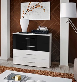 ASM Go Chest Of Drawers White/Black