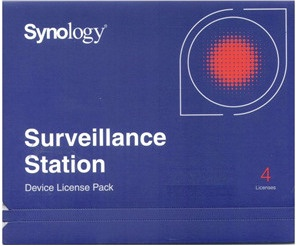 Лицензия Synology Surveillance Station 4 Cameras