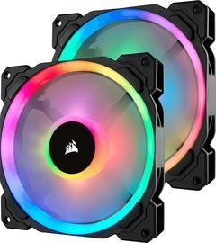 Corsair LL140 RGB Dual Light Loop RGB LED PWM Fan 2 Pack + Lighting Node Pro