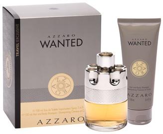 Набор для мужчин Azzaro Wanted 100 ml EDT + Hair & Body Shampoo 100 ml