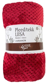 Home4you Liisa Blanket 150x200cm Red