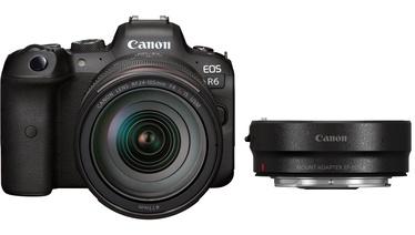 Digifotoaparaat Canon + RF 24-105 f/4L IS USM + Mount Adapter EF-EOS R EOS R6