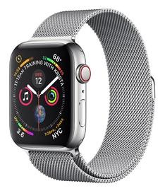 Apple Watch Series 4 40mm Cellular Stainless Steel Milanese Loop