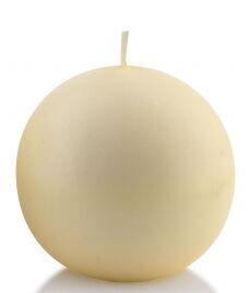 Mondex Classic Candle Ball Cream 8cm