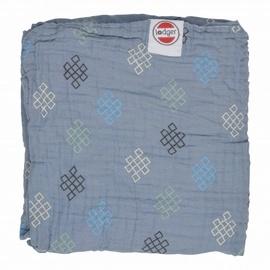 Lodger Dreamer Xandu Muslin Baby Blanket 120x120cm Ocean Knot