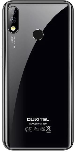 Mobilusis telefonas OukiTel Y4800 Black, 128 GB