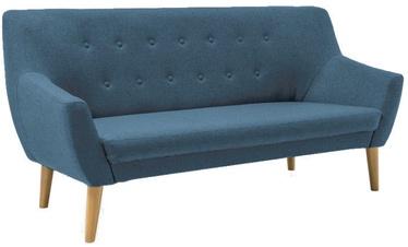 Sofa Signal Meble Nordic 3 Savana 72 Blue, 180 x 75 x 90 cm