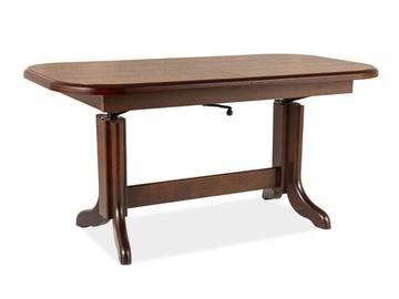 Pusdienu galds Signal Meble Emil Chestnut, 1270x670x600 mm