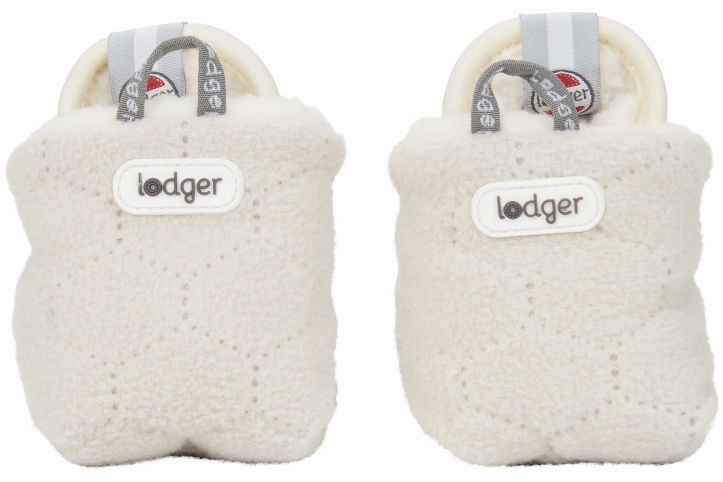 Lodger Fleece Booties BotAnimal Ivory 12-18m