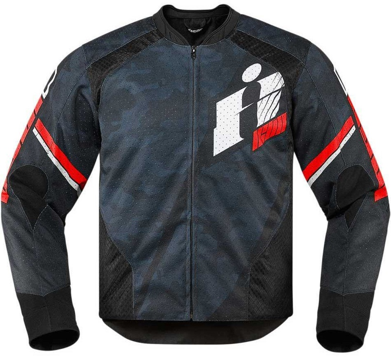 Icon Overlord Primary Jacket Blue Red L