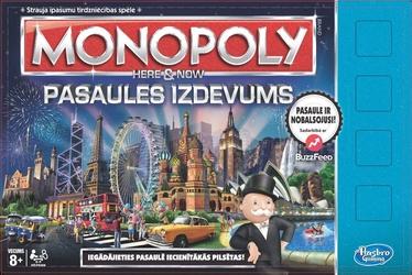 Hasbro Monopols Šeit un tagad 2015 LV B2348LAT