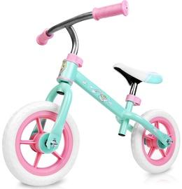 """Balansinis dviratis Spokey Elfic My Little Pony, žalias/rožinis, 10.8"""""""
