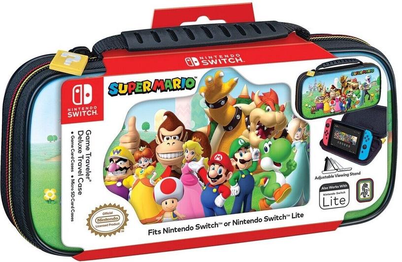 Nintendo Game Traveler Deluxe Travel Case Super Mario & Friends