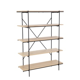 Home4you Helena Shelf Black/Oak