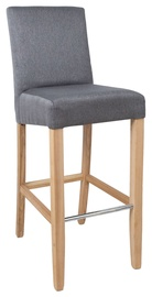Home4you Boston Bar Stool Grey