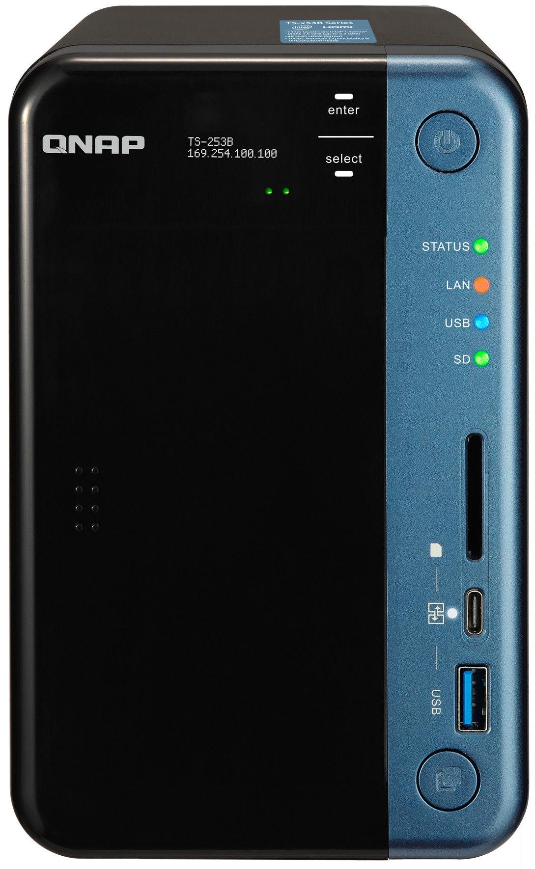 QNAP Systems TS-253B-4G 2-Bay NAS