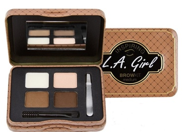 L.A. Girl Inspiring Brow Kit Palette 2.4g 342
