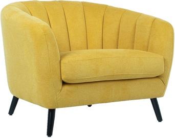 Fotelis Home4you Melody 20206, geltonas, 100x88x76 cm