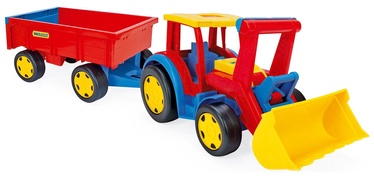 Wader Giant Tractor Loader With Trailer 66300