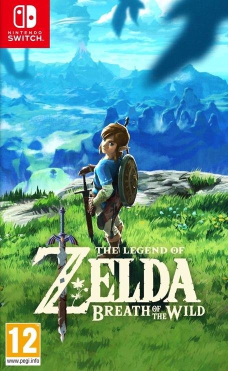 Nintendo Switch Red Blue + Zelda: Breath of the Wild