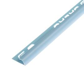 Plaadiliist 019017 välisnurk, 9 mm, 250 cm, helesinine
