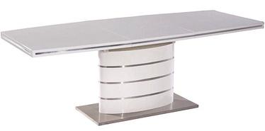 Pusdienu galds Signal Meble Fano White, 1200x800x770 mm