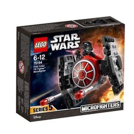 Конструктор LEGO Star Wars First Order TIE Fighter Microfighter 75194 75194, 91 шт.